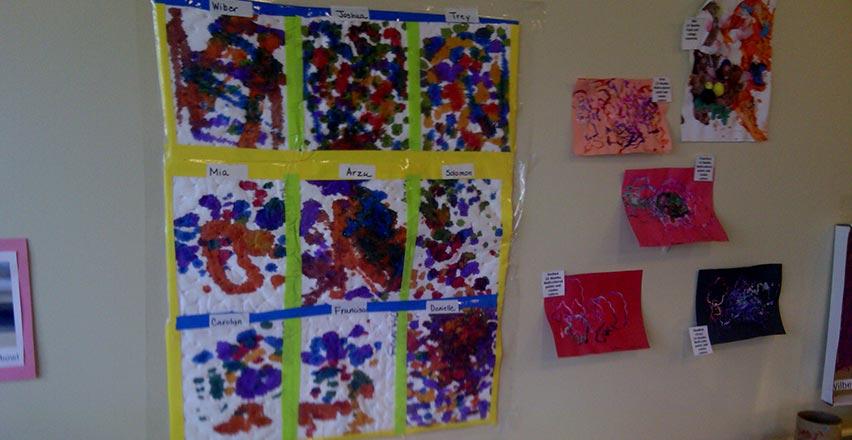 Educare Center Art Show