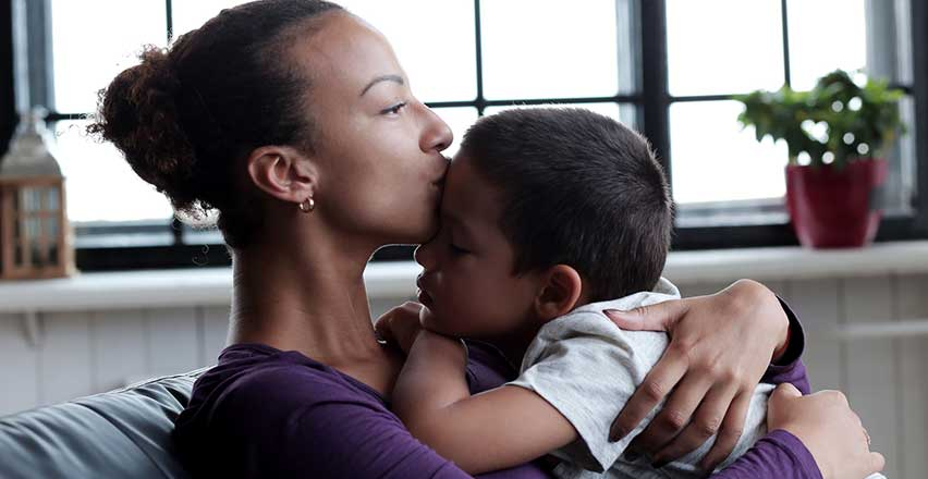 Helping A Young Mother Overcome Depression